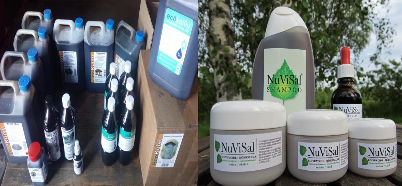 Ecokoivu ja Nuvisal tuotteet