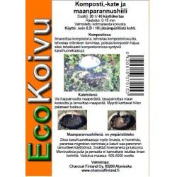 EcoKoivu Biohiili 20 l